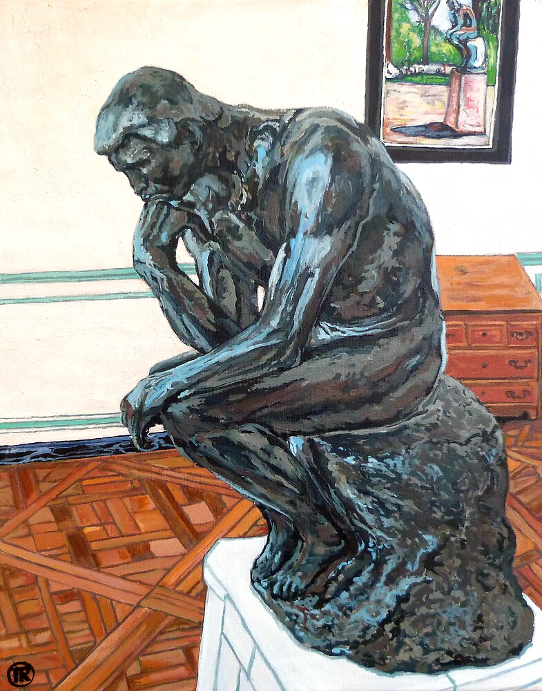 Le Penseur The Thinker by Tom Roderick
