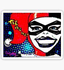 Tee Hee Hee! Sticker