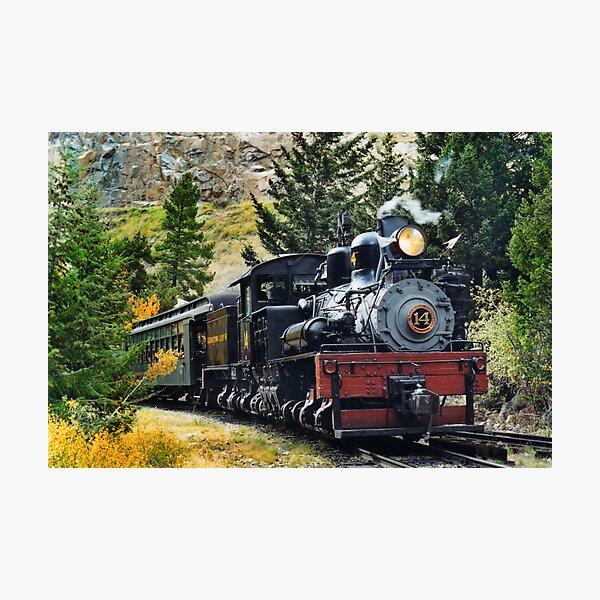 Publicidad de vapor de ferrocarril sur de Devon Letrero de Metal Placa de pared Arte Vintage Retro