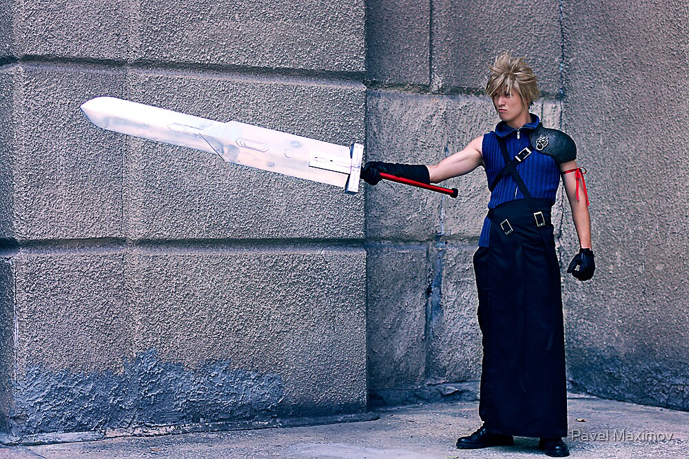 Cloud from Final Fantasy by Pavel Maximov