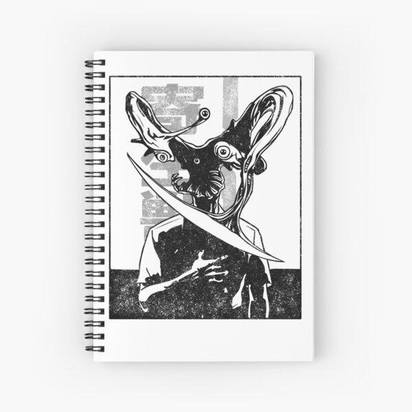 Parasyte Manga Style Spiral Notebook