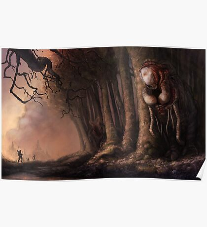 The Fabled Giant Women of the Woods Poster