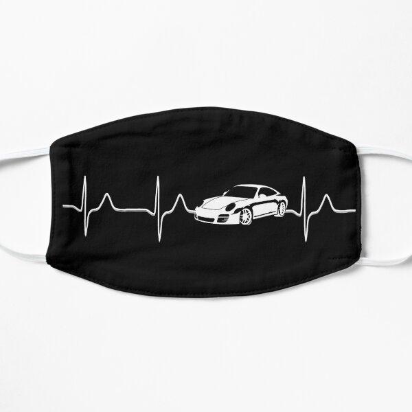Super voiture légendaire dans mon rythme cardiaque Masque sans plis
