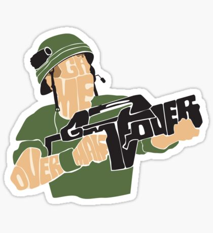 Game Over, Man. Game Over! Sticker