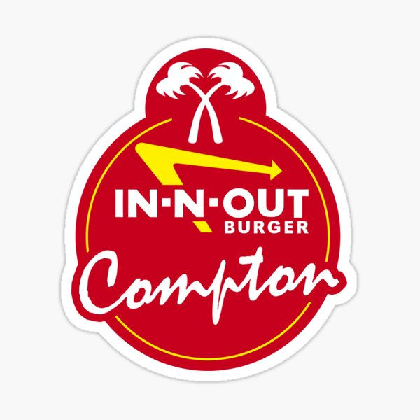 In-N-Out Compton Sticker