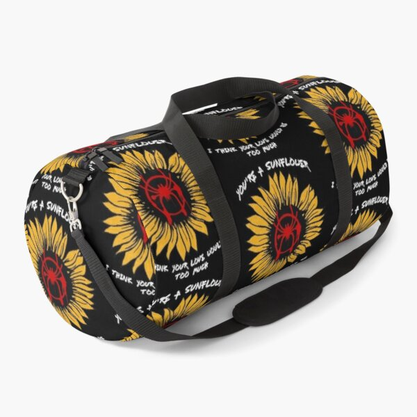 You're A Sunflower (Spider) Duffle Bag