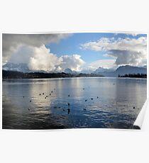 Lake Lucerne Poster