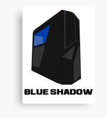 Blue shadow PC Canvas Print
