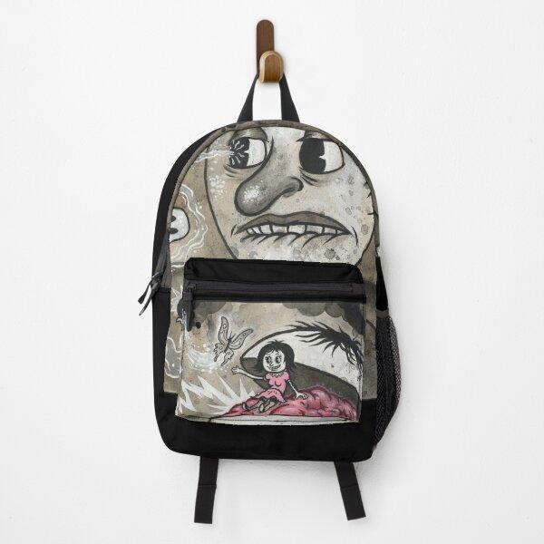 FOUR FINGERS OF DEATH Dark Pop Surrealism Cartoony Horror Backpack