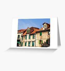 Diocletian's Palace, Split, Croatia Greeting Card