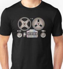 Tape Recorder Retro Magnetophon  T-Shirt