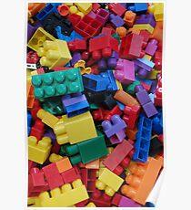 Mega Bloks Poster