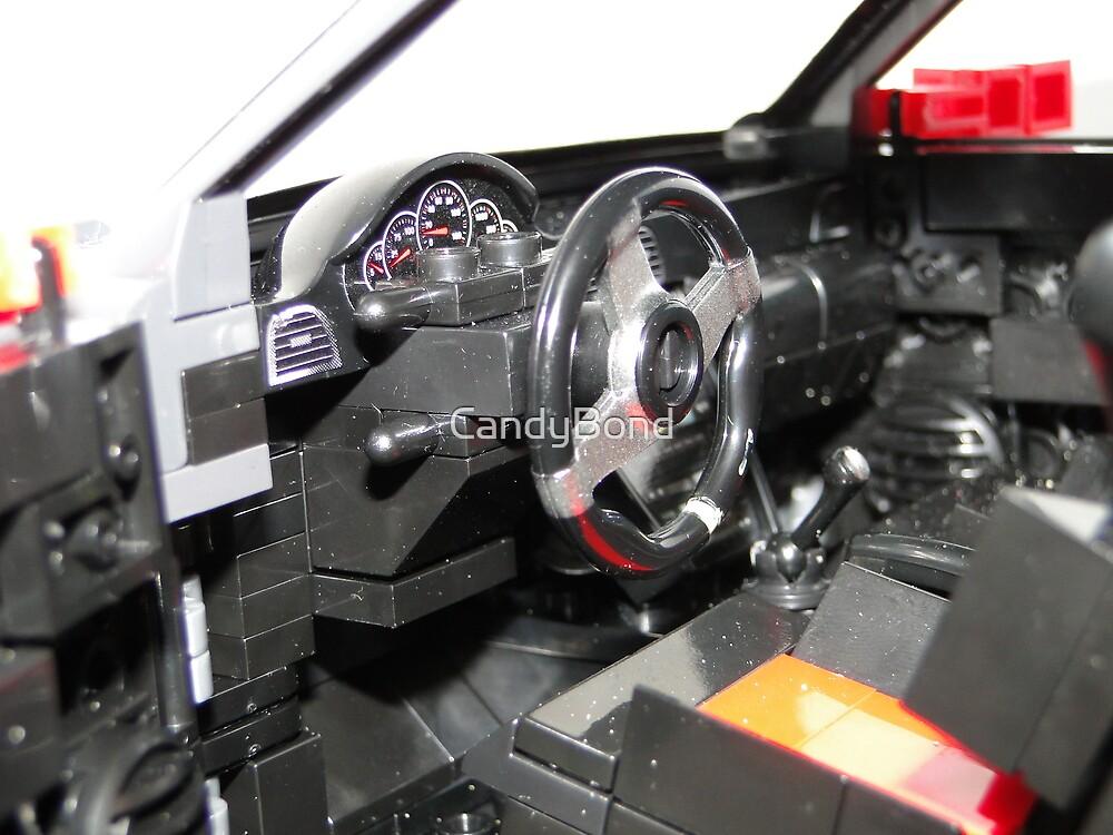 LEGO Car by MegaBloks Interior by CandyBond