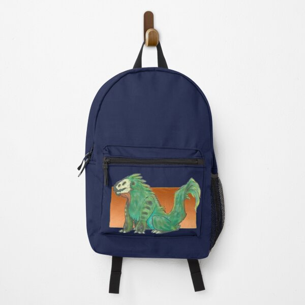 Feathery green creature Backpack