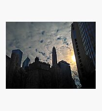 City Clouds Photographic Print