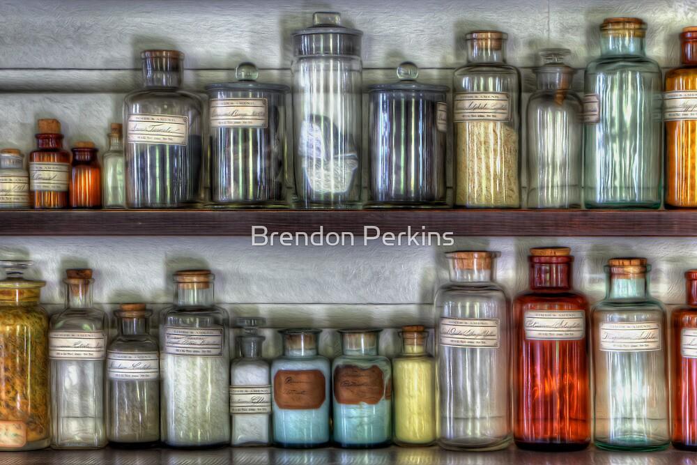 Sample Bottles by Brendon Perkins