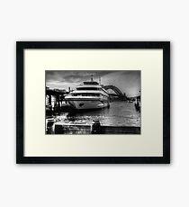 Sydney 2000 at Circular Quay Framed Print