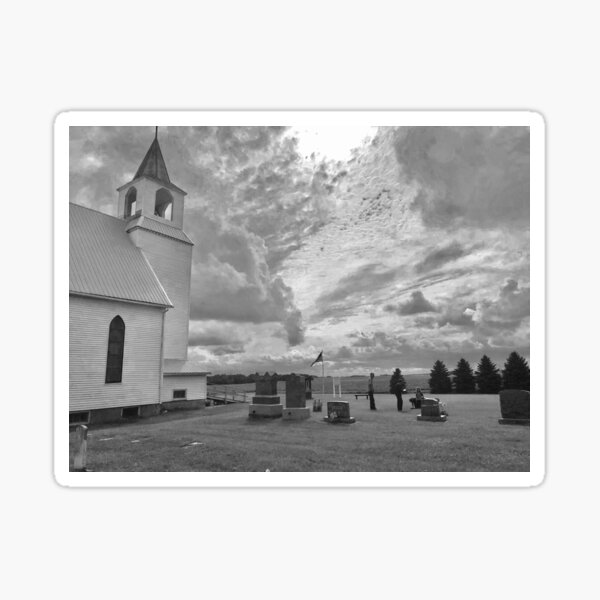 """""""Rural Barrett"""" by Gina Lee Ronhovde Sticker"""