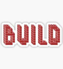 BUILD Sticker
