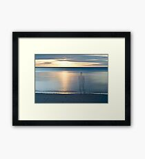 Lost in the serenity Framed Print