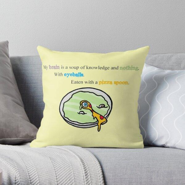 Eyeball Soup Throw Pillow