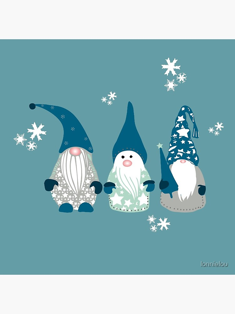 Trio of Gnomes  by lonnielou