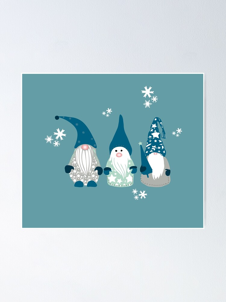 Alternate view of Trio of Gnomes  Poster