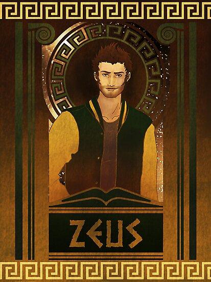 Olympia Heights: Zeus by Christadaelia