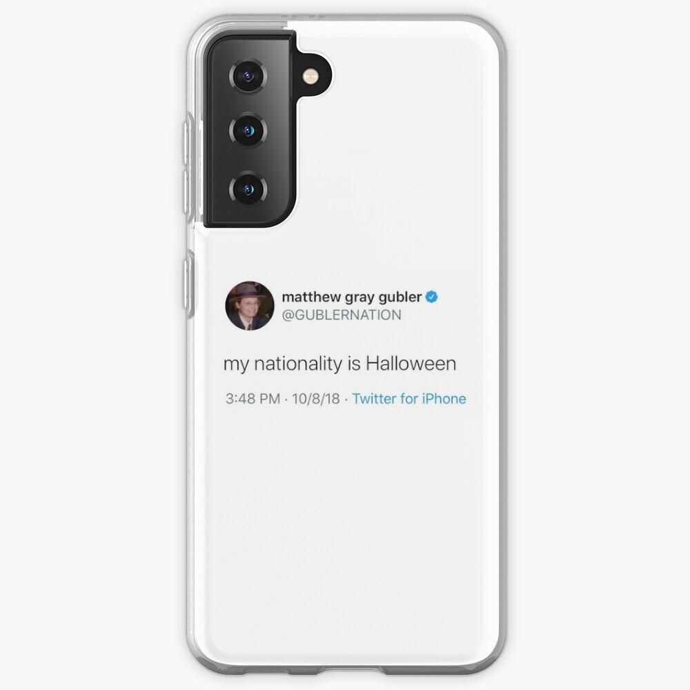 matthew gray gubler tweet Case & Skin for Samsung Galaxy