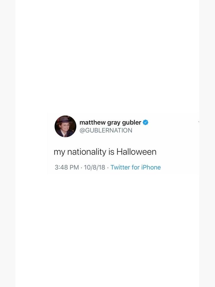 matthew gray gubler tweet by maddyrison