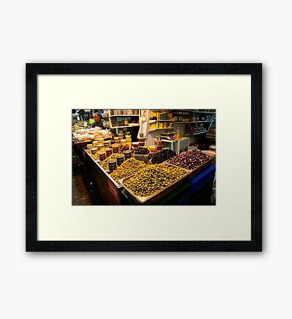 Mountains Of Olives - Jerusalem Framed Print