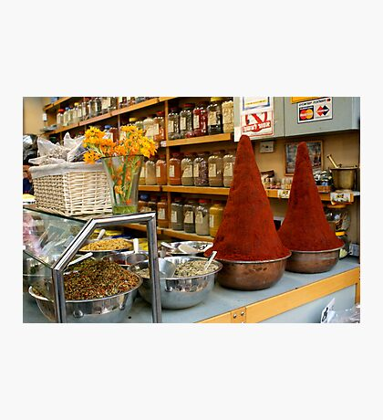 Two Towers Of Paprika - Jerusalem Photographic Print