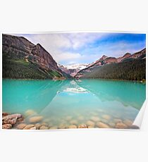 Lake Louise Tranquility Poster