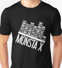 Monsta X Member Names List T-Shirt