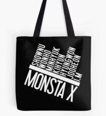 Monsta X Member Names List Tote Bag