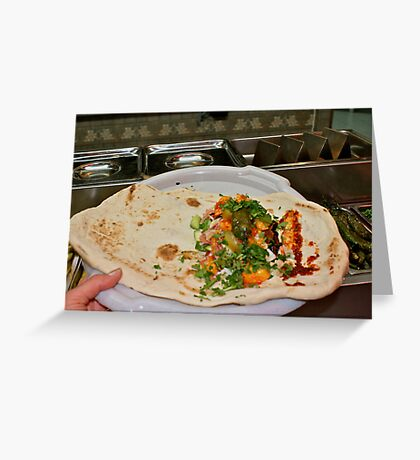 Now That's What I Call A Pita Pocket! Greeting Card