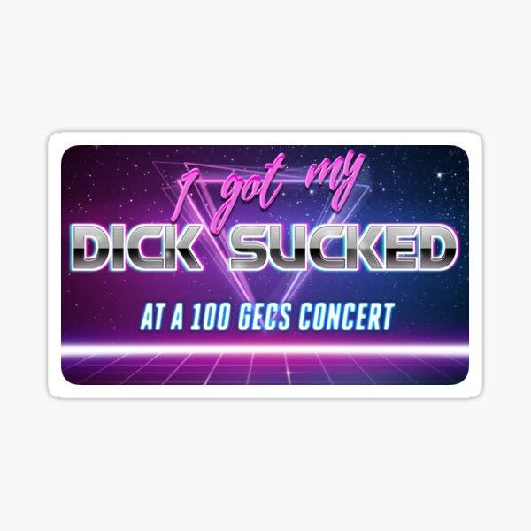 100 gecs Sticker