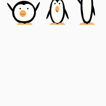 The Penguin Trio by TheRandomFandom