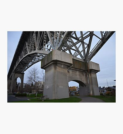 Seattle crossing Photographic Print