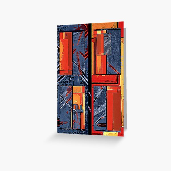 Windows of closed opportunities Greeting Card
