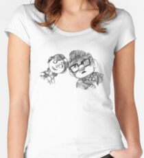 Carl And Ellie Anniversary, Up movie Women's Fitted Scoop T-Shirt