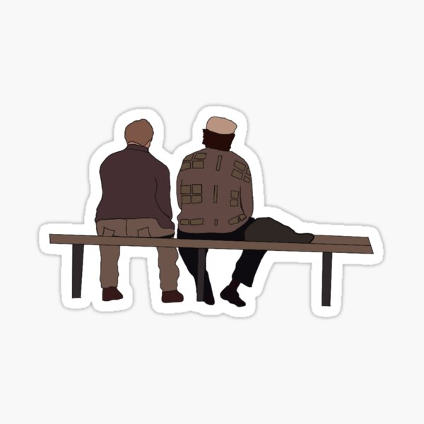 Good Will Hunting Bench Scene Sticker
