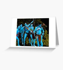 Avatar Revisited Greeting Card