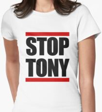 STOP TONY Women's Fitted T-Shirt