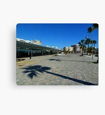 ccf204a2e4 Santa Pola Promenade Canvas Print