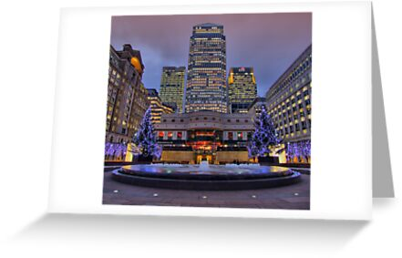 Canary Wharf - London - 4 - HDR by Colin  Williams Photography