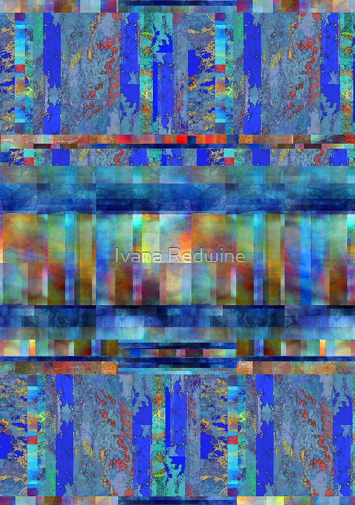Abstract Composition – Abstract Lines by Ivana Redwine