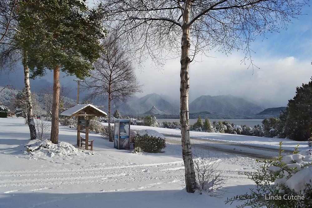 Winter in Manapouri by Linda Cutche