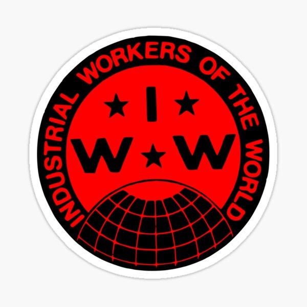 IWW Pegatina