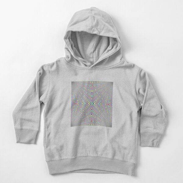 Optical illusion Concentric Circles Geometric Art - концентрические круги Toddler Pullover Hoodie